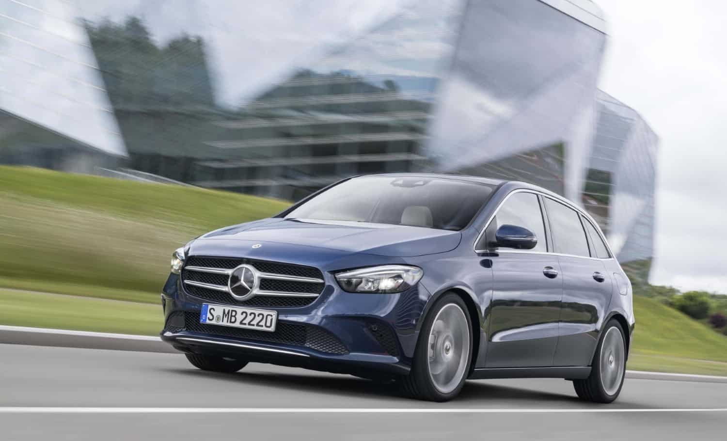 New Mercedes Benz B Class Adopts Smaller Siblings Tricks On Sale