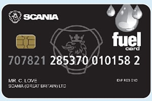 Scania (Discount) Fuel Card