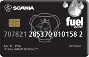 Scania Fuel Card