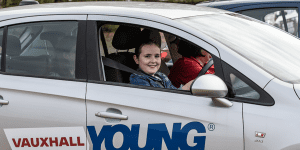 Search underway for UK's best young driver