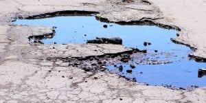 Graphene fixing potholes