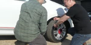 tyre check