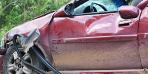 A third of motorists have had a car written off